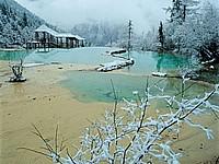 冬天·黄龙风景图片