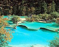 夏天·黄龙风景图片